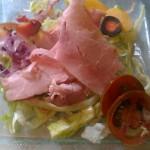 salade de chiffonade de porcelet